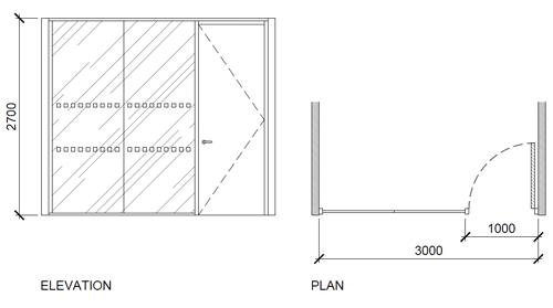 Office Partitioning Illustration